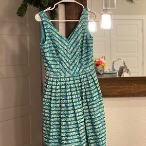 Midi Teal Dress